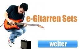 E-Gitarren Set kaufen